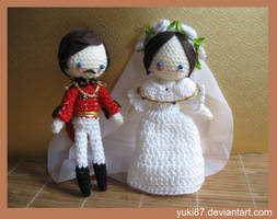 commission: Wedding Victoria and  Albert