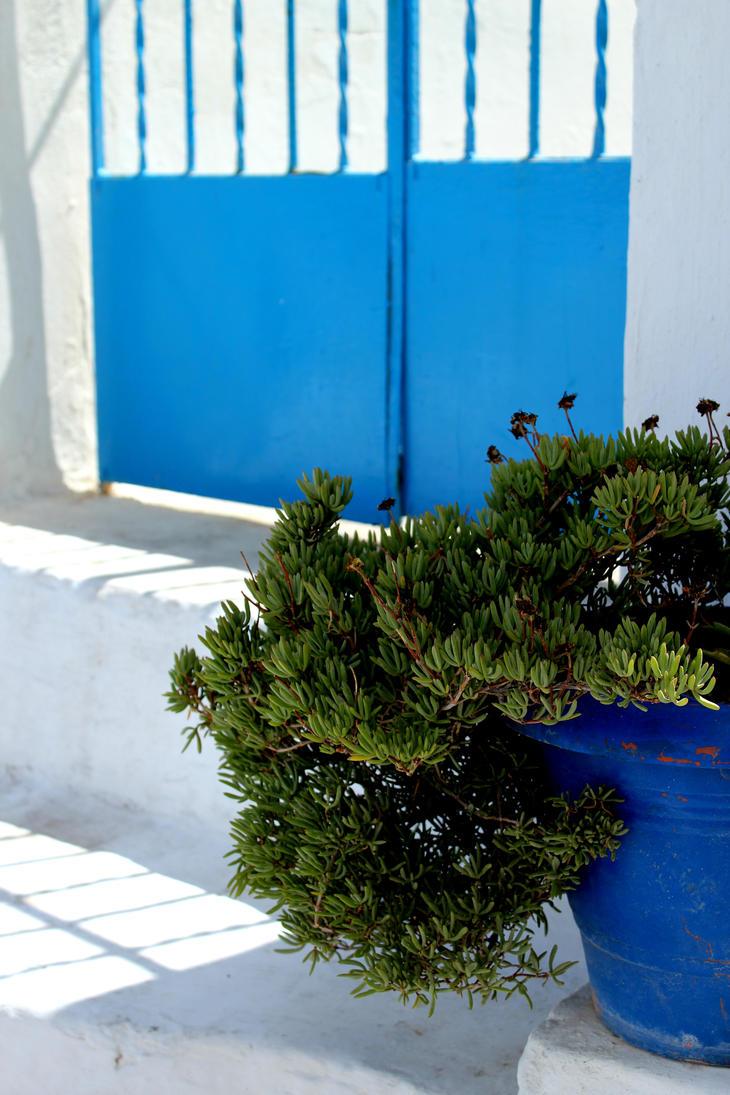 Santorini, Greece (3) by Echoed-Scribbler