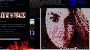 Linux Console Screenshot
