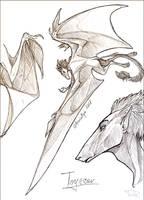 Sketch trade - CamaroLp by AniutqaART