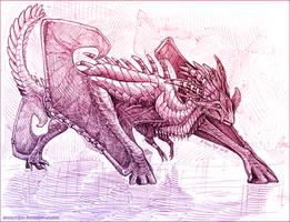 Sketch trade - Rudzlk by AniutqaART