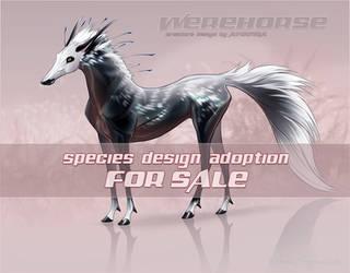Custom design: Werehorse [CLOSED] by AniutqaART