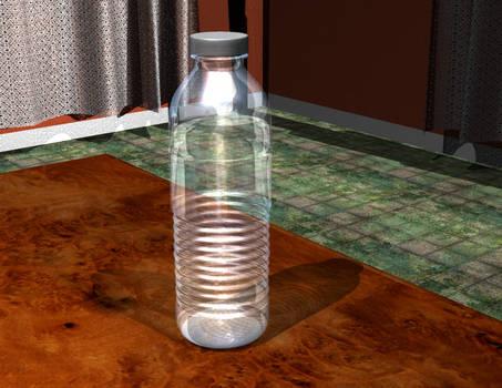 Water Bottle: 3D Render in Rhino