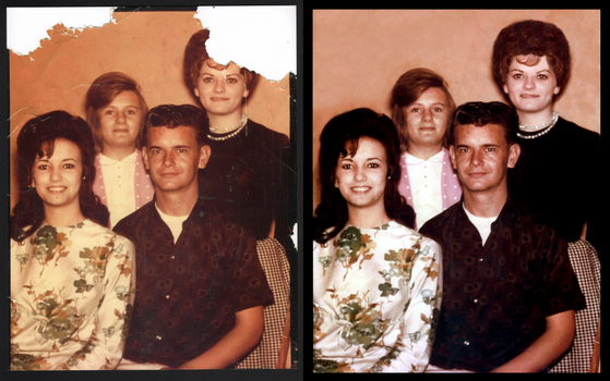 Photo Restoration: Before and After