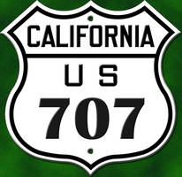 The 707 Sign Logo