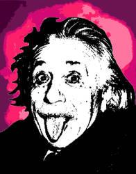 Albert Einstein Pop Art