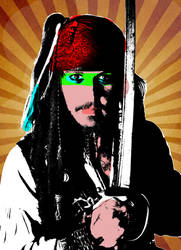 Pirates of the Caribbean: 1980's Pop Art
