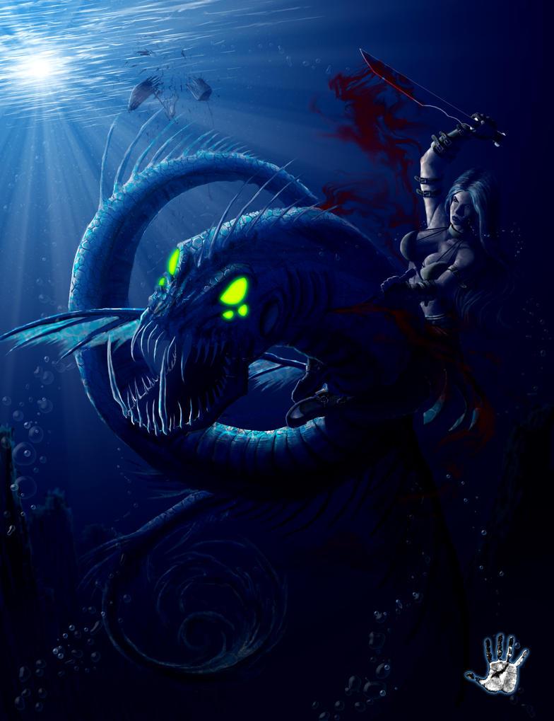 Sea Dragon by ianllanas