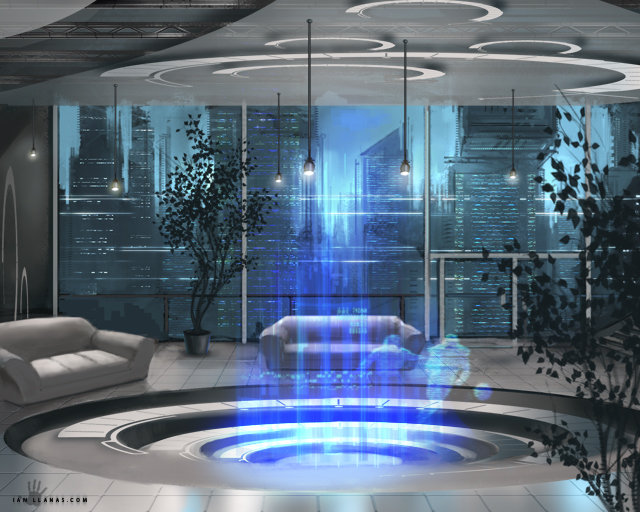Penthouse by ianllanas on deviantart - Fantastic modern architecture in futuristic design with owner passion ...