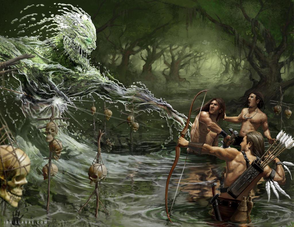 Water Elemental Redux by ianllanas