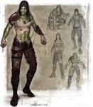 Half Orc Brawler