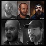 Selfie Evolution by ianllanas