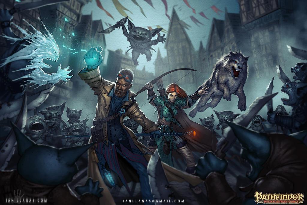 Iconics vs Goblins by ianllanas