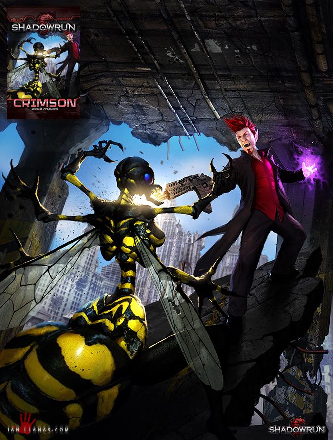 Shadowrun: Crimson by ianllanas