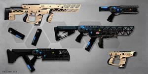 Laser weapon concepts