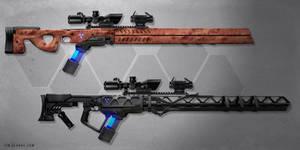 Gauss Sniper Rifles