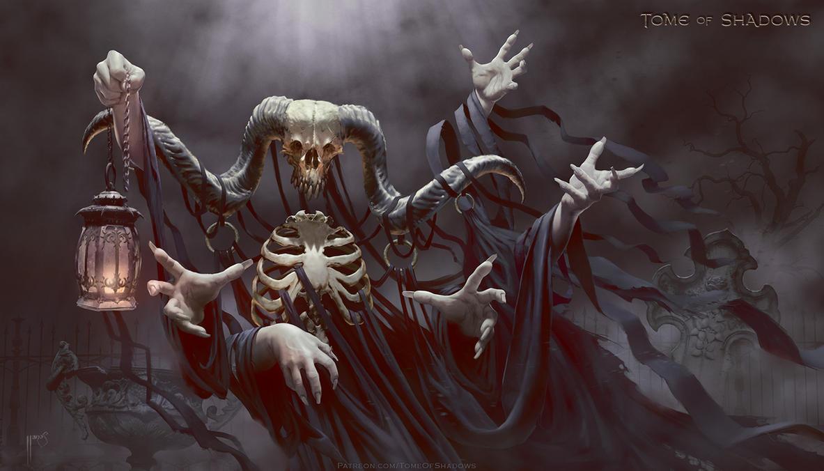 Tome of Shadows - Harvester of Terror by ianllanas