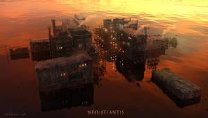 Neo-Atlantis: Warden's Landing by ianllanas