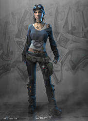 DEFY: Character Concept