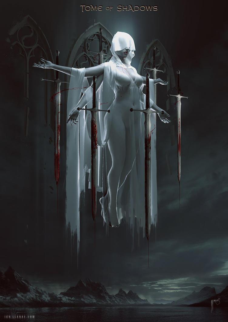 Tome of Shadows: The Queen of Swords by ianllanas