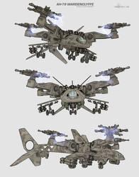 Attack Ship concept by ianllanas