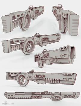 Anime Rifle Concept