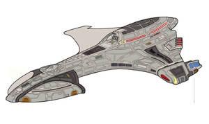 Hurricane class starship