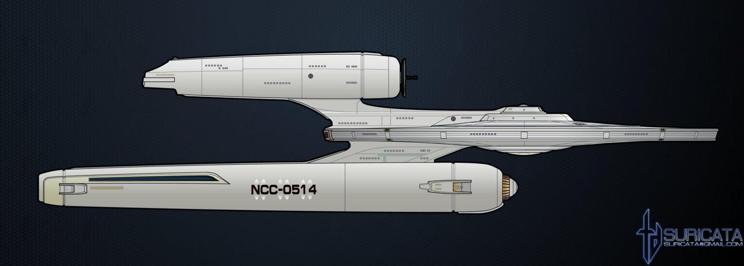 Starship USS Kelvin by SuricataFX on DeviantArt