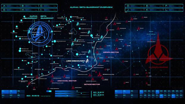 Star Trek Discovery Map