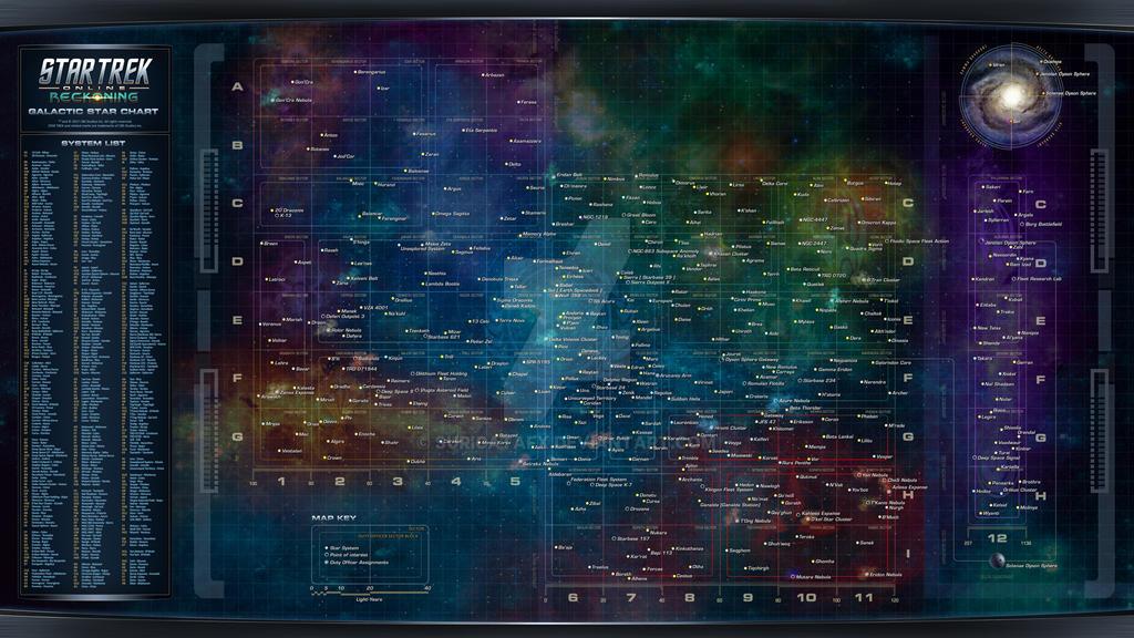Star Trek Online Star Chart by SuricataFX on DeviantArt