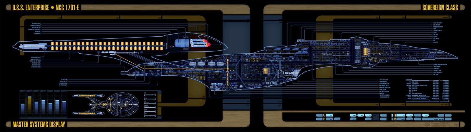 Star Trek Enterprise E MSD