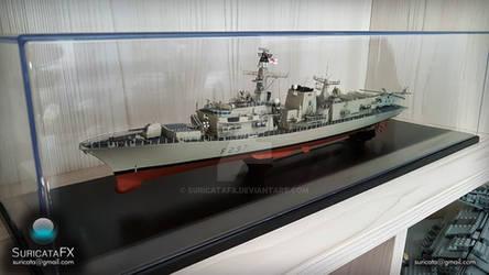HMS Westminster 1/350 model