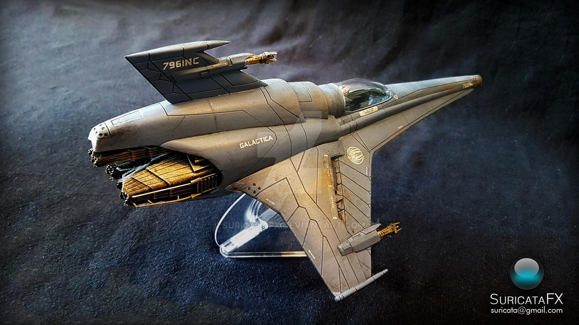 BSG Viper MkVII 1/32 model kit by SuricataFX