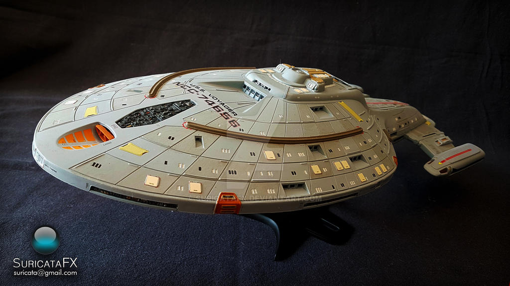 USS Voyager Model by SuricataFX