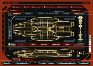 Battlestar Galactica System Display by SuricataFX