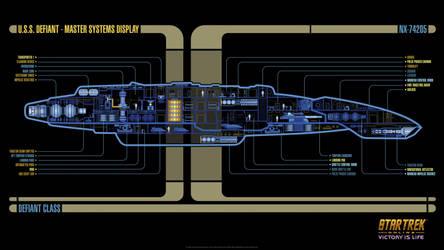 USS Defiant MSD