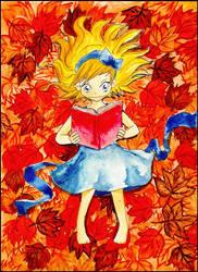 autumn read by thrudeyes