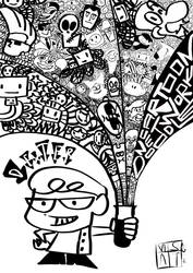 CArtoon Network Doodle by thrudeyes