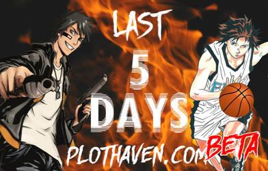 Last 5 Days to PlotHaven.com BETA Launch