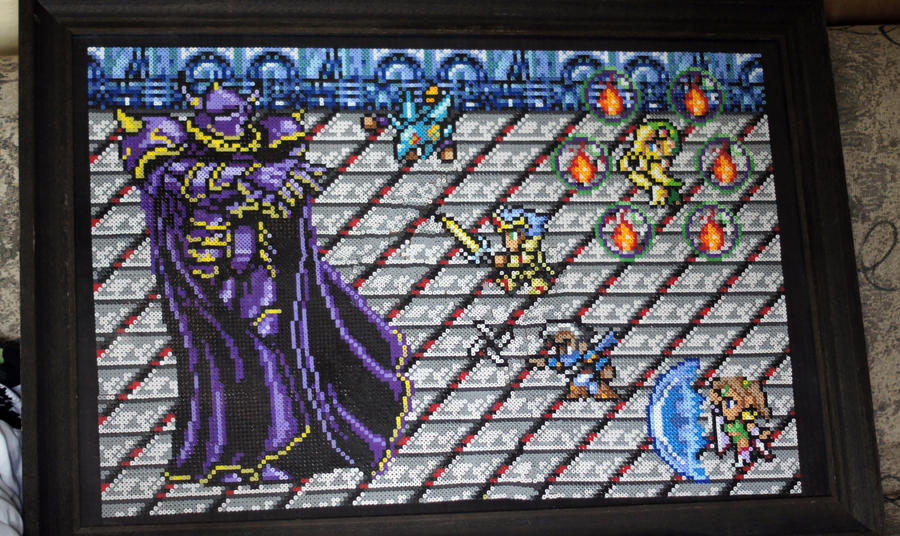 Final Fantasy IV: Golbez Fight by Dunhour