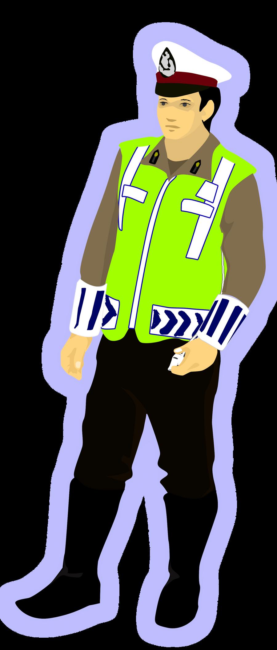 Pak Polisi Winarasetyo Deviantart Animasi Tentara