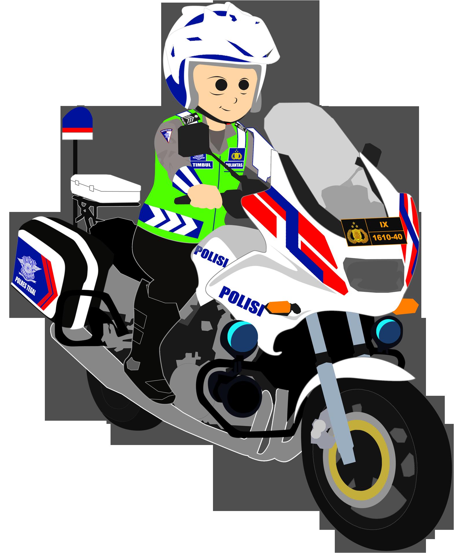 Gambar Kartun Polisi Dan Bhayangkari