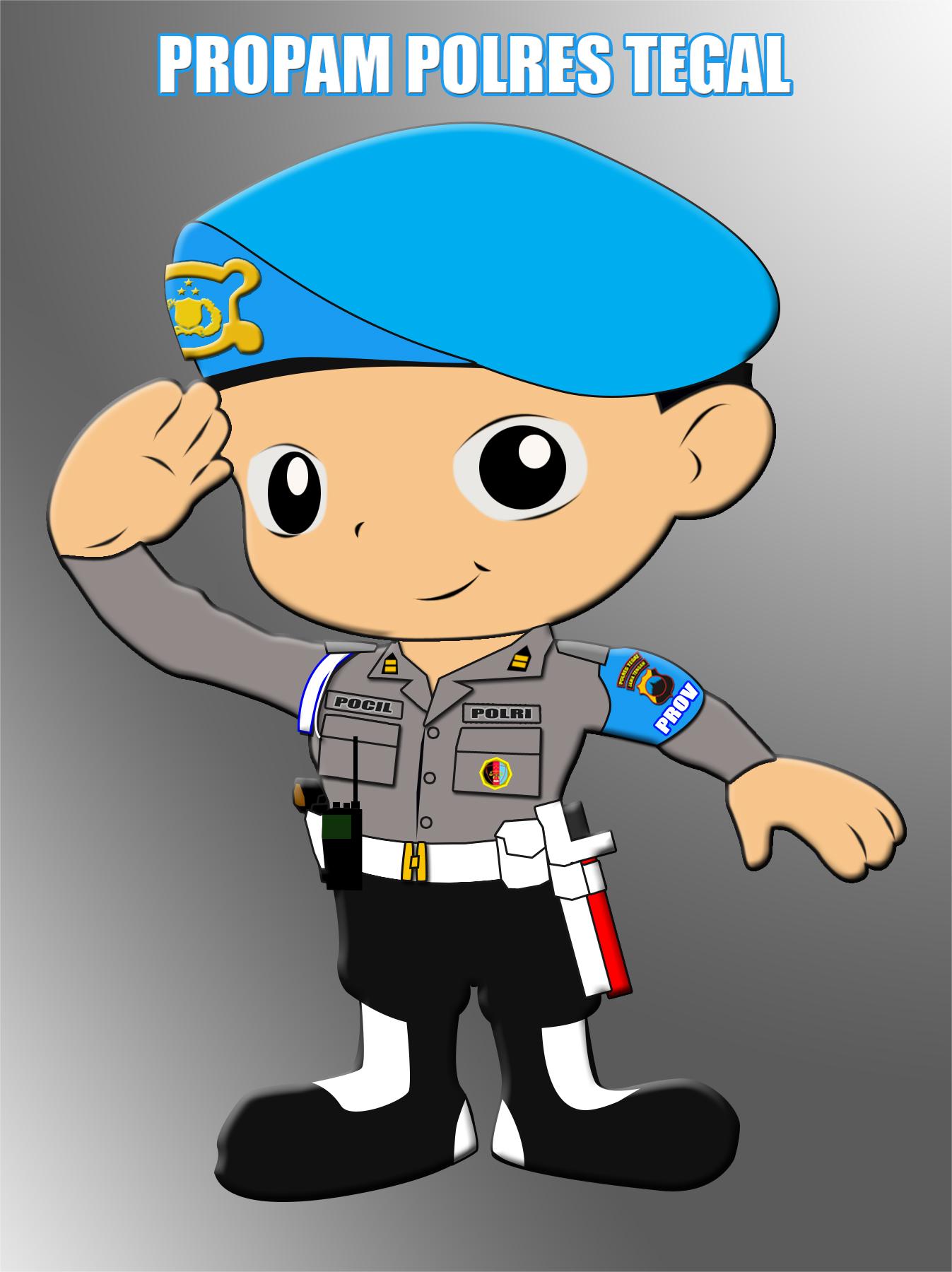 Koleksi Gambar Kartun Animasi Polisi Terbaru 2018 Sapawarga