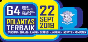 97. Konsep Logo Hut Polantas 64 2019