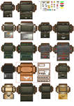 Imperial army storage CRATES 4