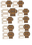 Imperial army storage CRATES 2