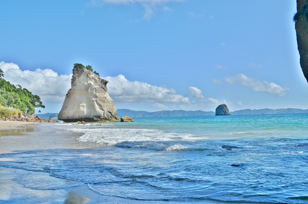 Cathedral Cove by MusicalT-bag