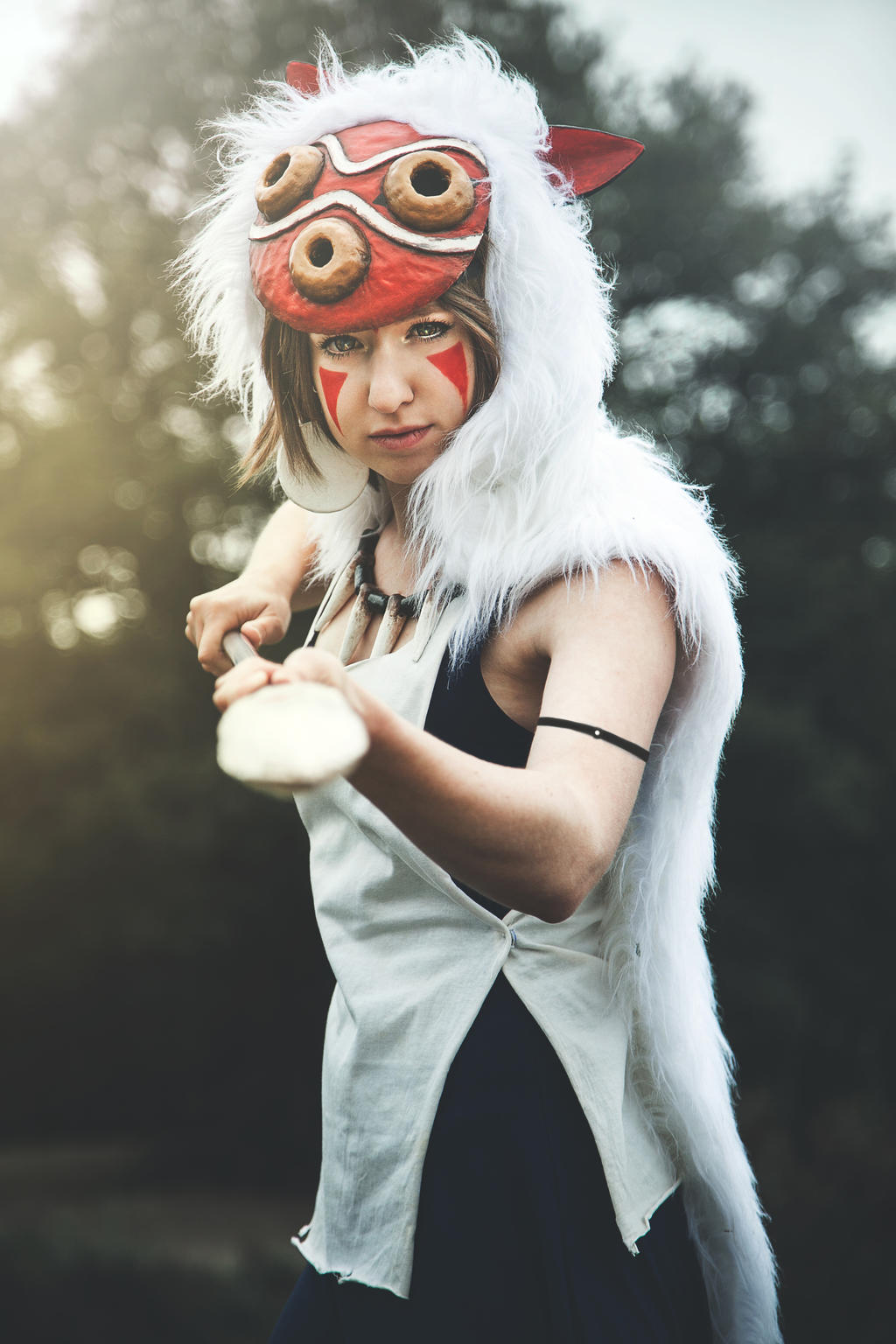princess mononoke by dotorocosplay princess mononoke by dotorocosplay