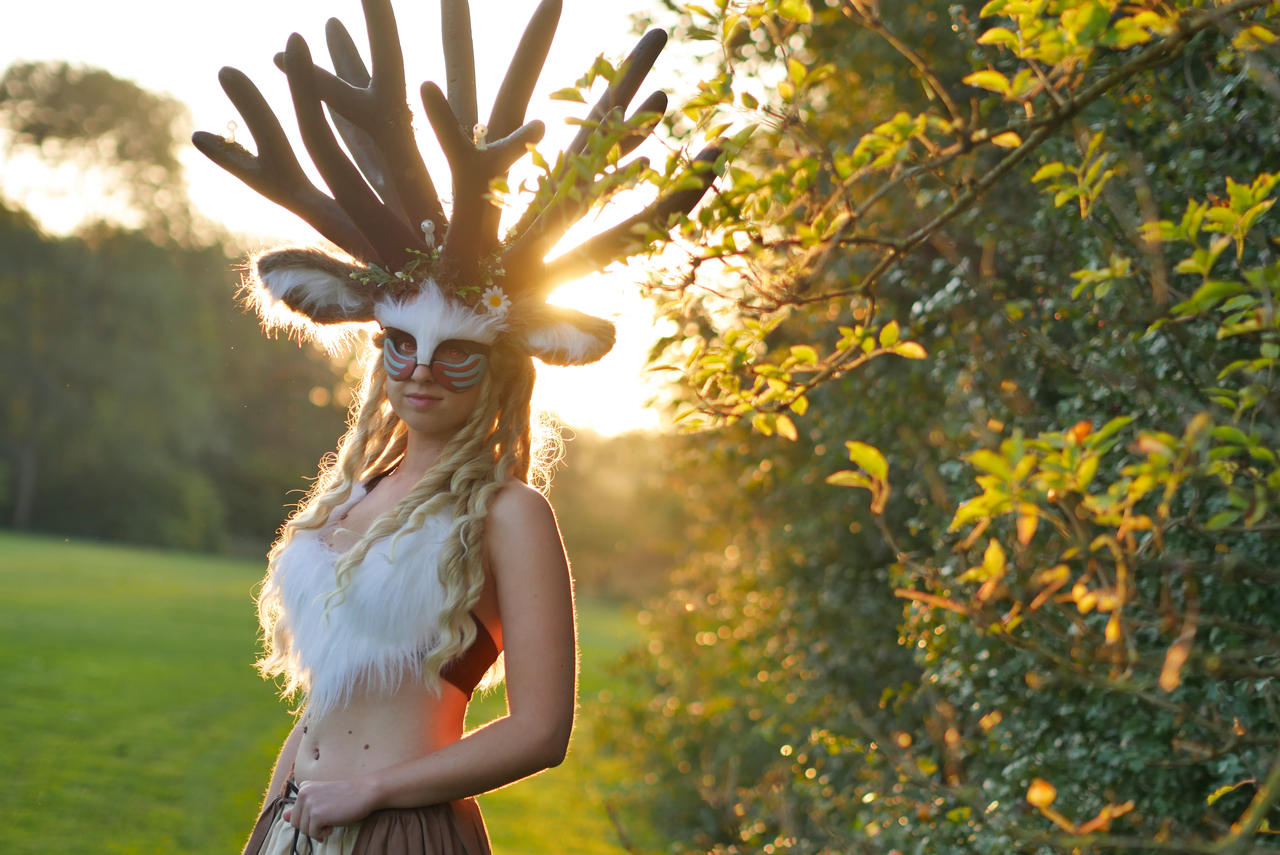 Deer God Cosplay Forest Spirit By Dotorocosplay On Deviantart