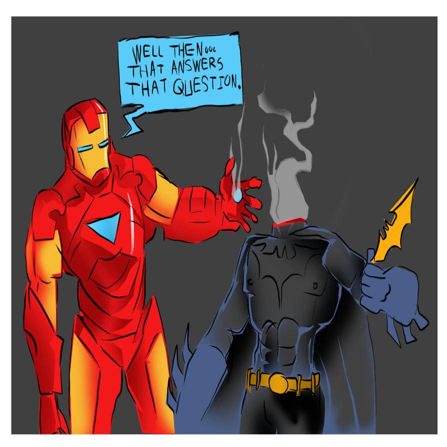 batman vs superman batman vs iron man images
